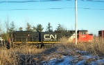CN 2664 trails on train 931